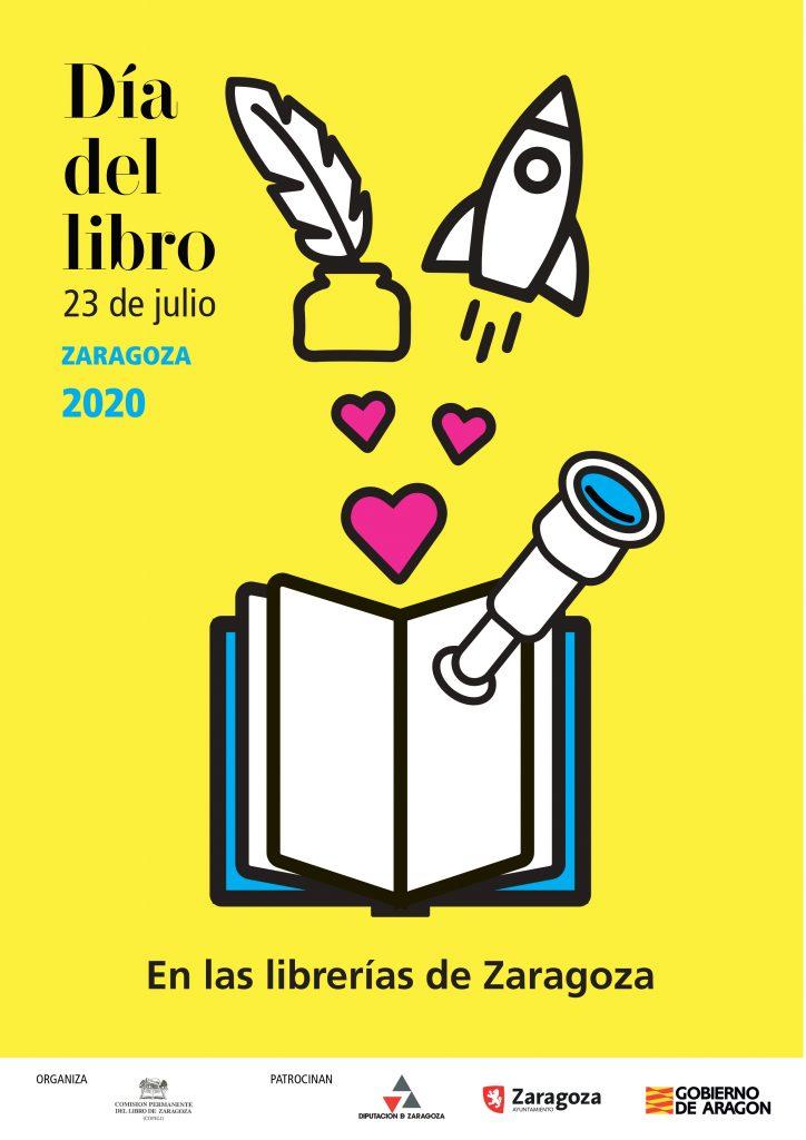 cartel dia libro julio